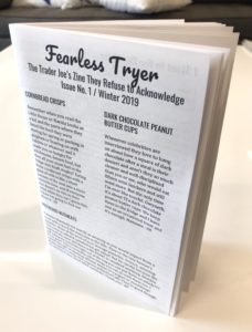 Fearless Tryer - the Trader Joe's zine